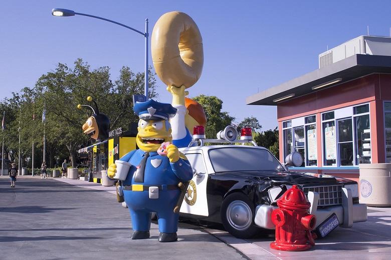 Le parc Simpson une journée avec Homer et les autres 2