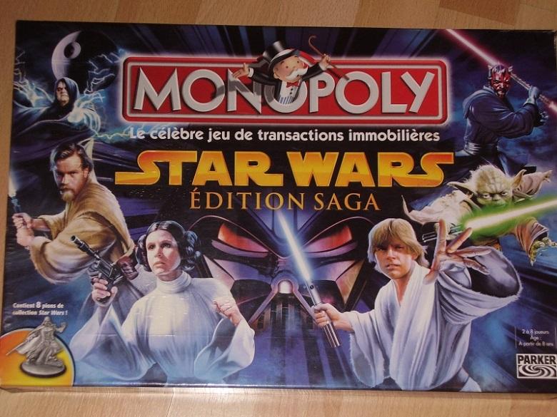Un petit plaisir de geek le Monopoly Star Wars 2