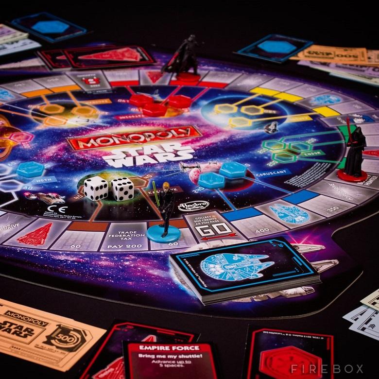 Un petit plaisir de geek le Monopoly Star Wars 3