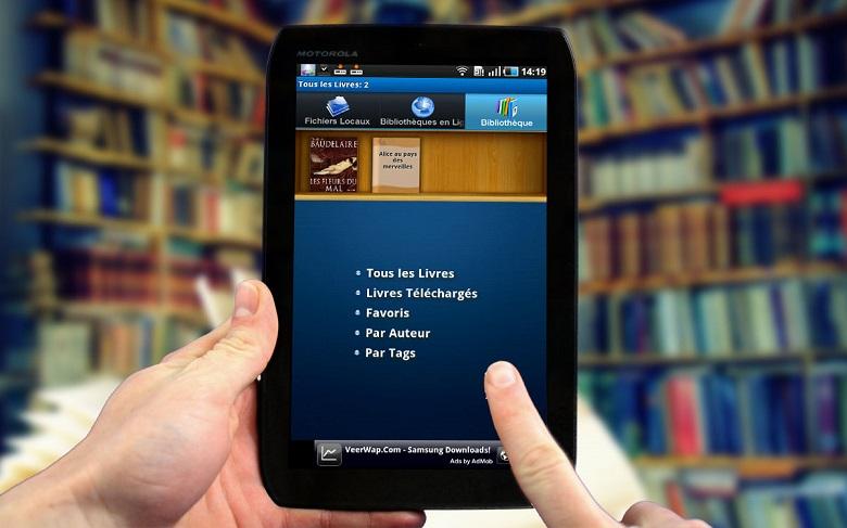 Livre numérique gratuit faire sa bibliothèque idéale 2