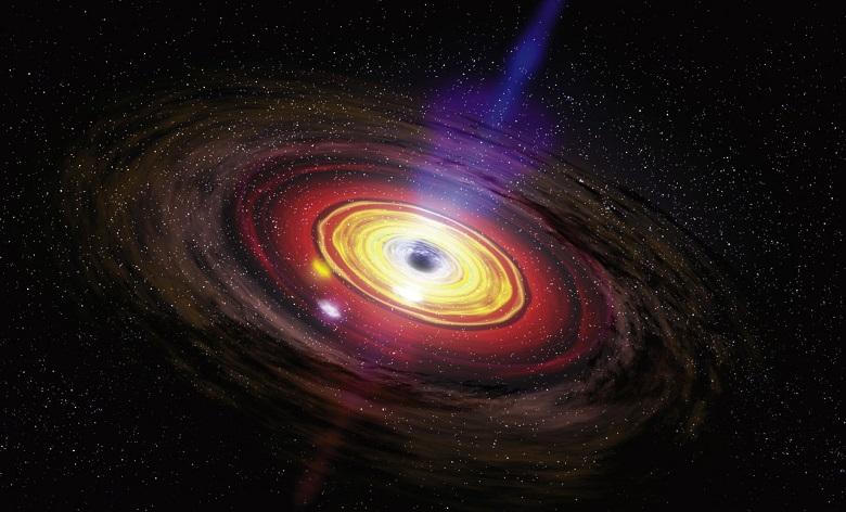 Le trou noir supermassif au centre de la galaxie  Un-trou-noir-supermassif-au-centre-de-notre-galaxie-3