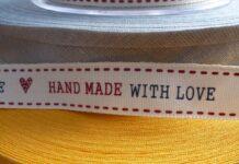 étiquettes en coton